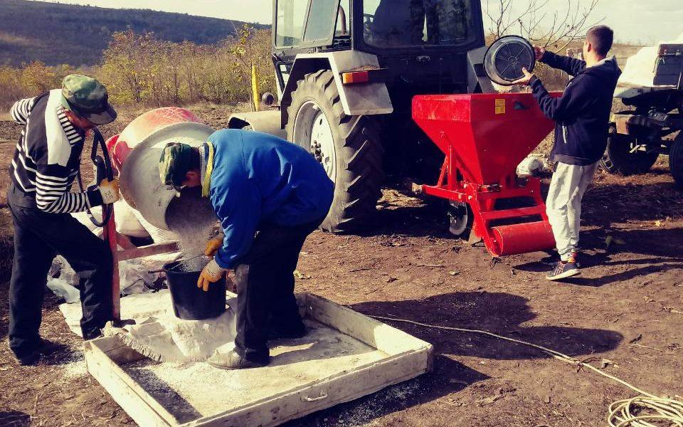 Aplicarea îngrășămintelor minerale